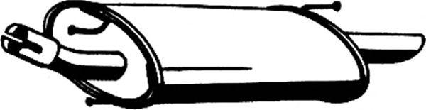 Глушитель ASMET 07.107