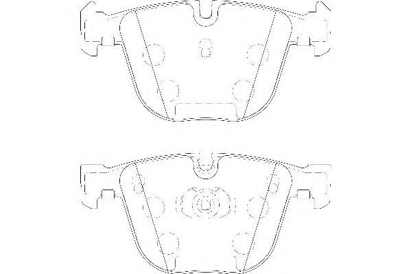 Тормозные колодки WAGNER WBP23309A