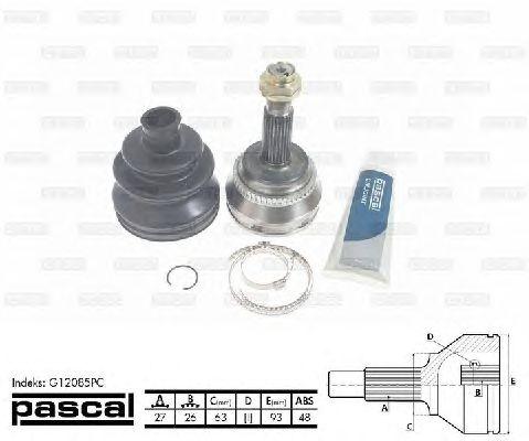 Комплект ШРУСов PASCAL G12085PC