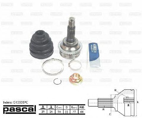 Комплект ШРУСов PASCAL G13038PC