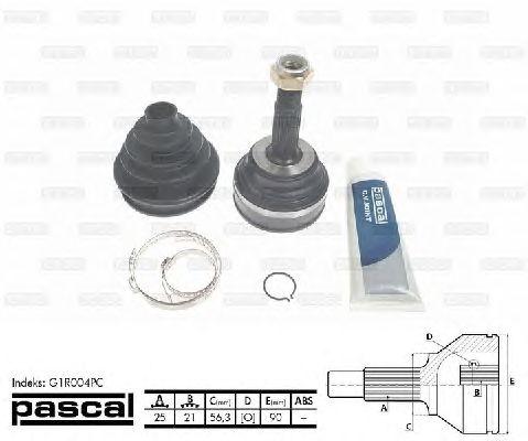 Комплект ШРУСов PASCAL G1R004PC