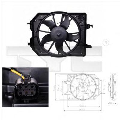 Вентилятор охлаждения TYC 810-0020