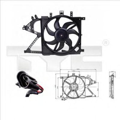 Вентилятор охлаждения TYC 825-0008