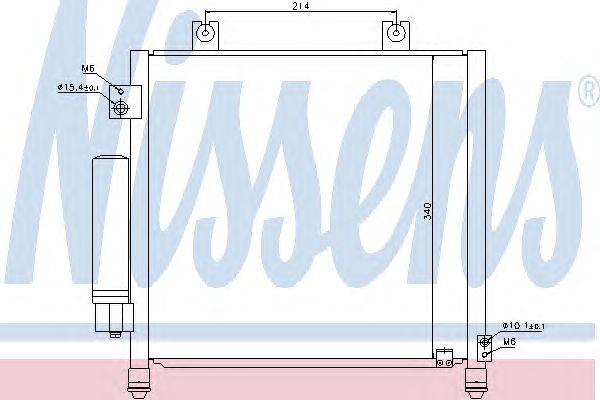 Радиатор кондиционера NISSENS 940302