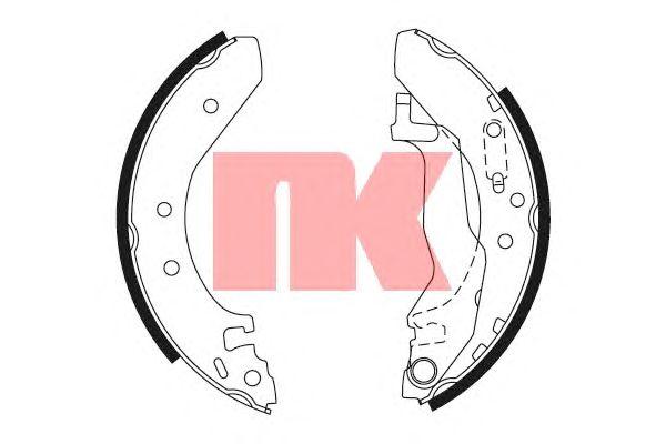 Тормозные колодки NK 2799527