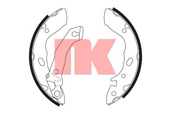 Тормозные колодки NK 2734560