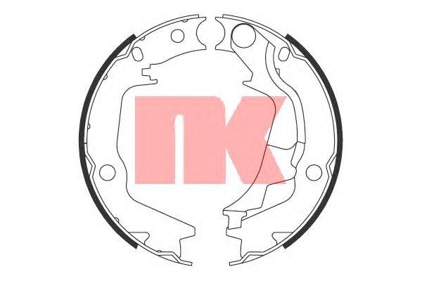 Тормозные колодки ручника NK 2734793