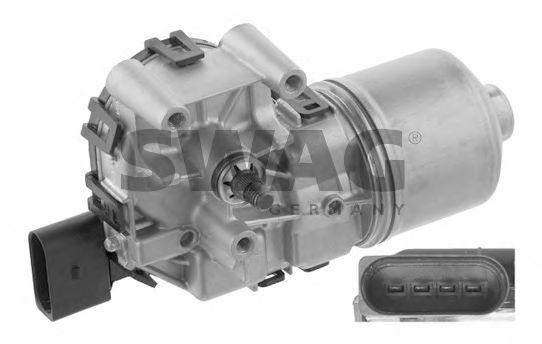 Двигатель стеклоочистителя SWAG 30 93 4753