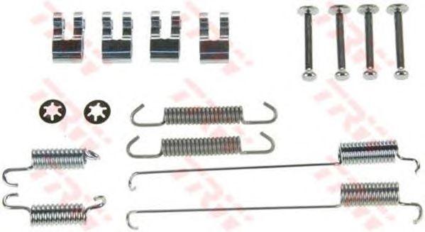 Монтажный комплект тормозных колодок TRW SFK219