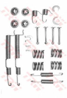 Монтажный комплект тормозных колодок TRW SFK296