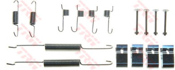 Монтажный комплект тормозных колодок TRW SFK391