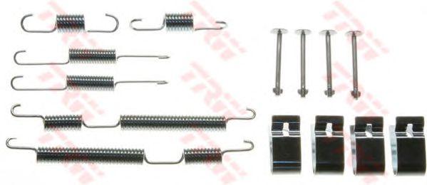 Монтажный комплект тормозных колодок TRW SFK412
