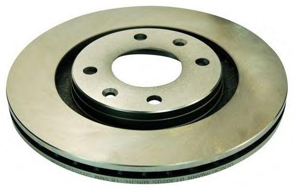 Тормозной диск DENCKERMANN B130205