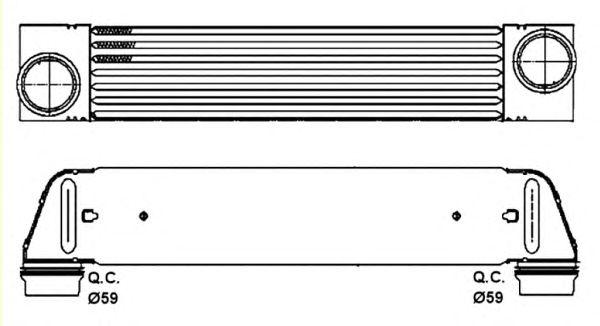 Интеркулер NRF 30317