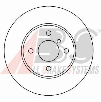 Тормозной диск A.B.S. 15766