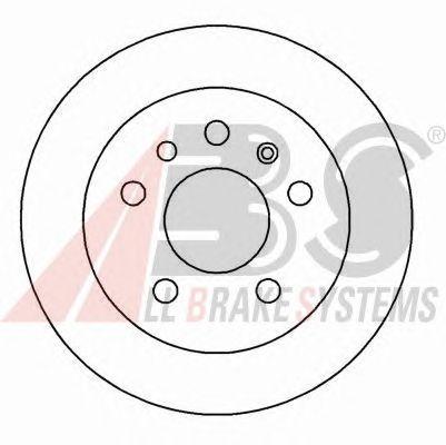 Тормозной диск A.B.S. 15818