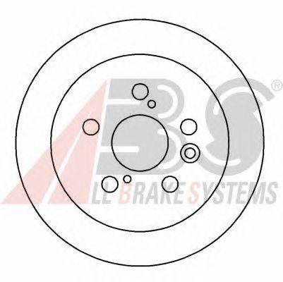 Тормозной диск A.B.S. 15990