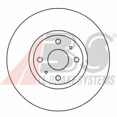 Тормозной диск A.B.S. 16153