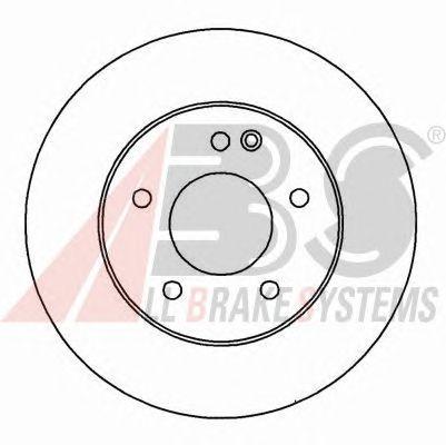 Тормозной диск A.B.S. 16179