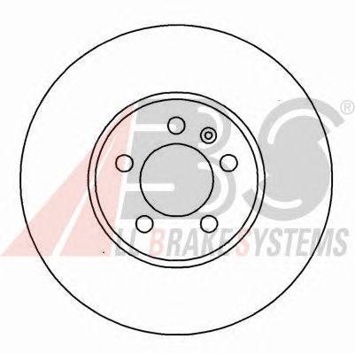 Тормозной диск A.B.S. 16882