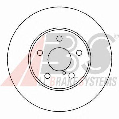Тормозной диск A.B.S. 16892