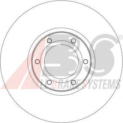 Тормозной диск A.B.S. 17036