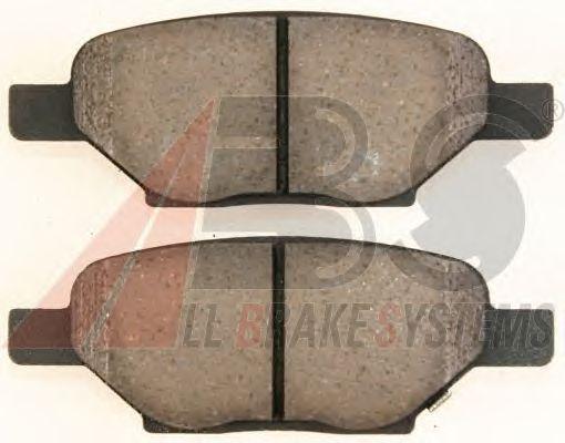 Тормозные колодки A.B.S. 38438