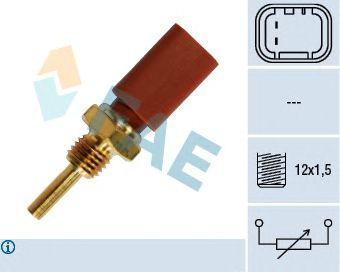 Датчик температуры охлаждающей жидкости FAE 33710