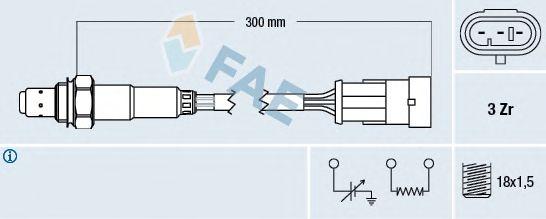 Лямбда-зонд FAE 77121
