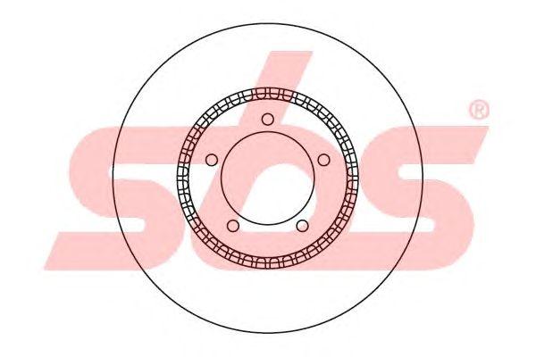 Тормозной диск sbs 1815204023