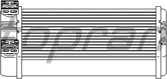 Радиатор отопителя TOPRAN 407 754