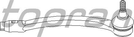 Наконечник рулевой тяги TOPRAN 501 214