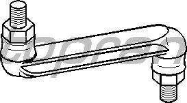 Тяга / стойка стабилизатора TOPRAN 400 045