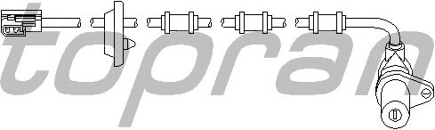Датчик вращения колеса TOPRAN 401 414
