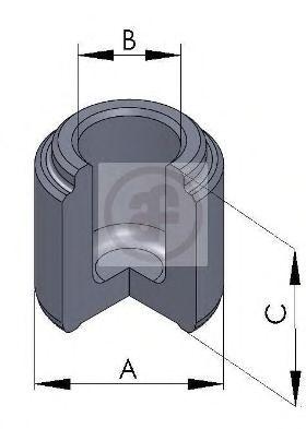 Поршень тормозного суппорта AUTOFREN SEINSA D025236