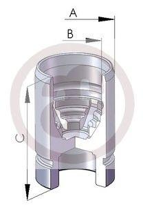 Поршень тормозного суппорта AUTOFREN SEINSA D02589