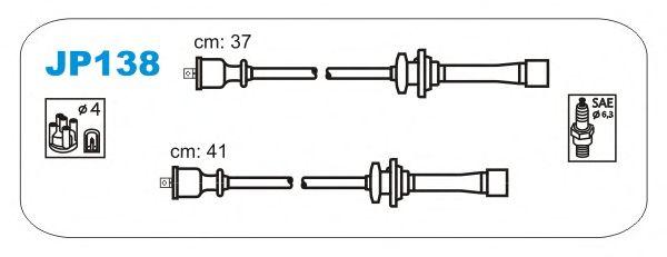 Комплект высоковольтных проводов JANMOR JP138