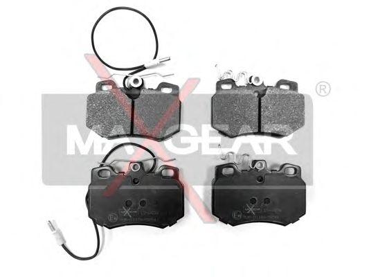 Тормозные колодки MAXGEAR 19-0454