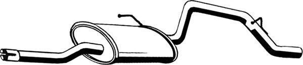 Глушитель ASMET 05.150