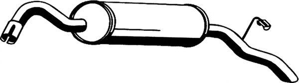 Глушитель ASMET 07.151