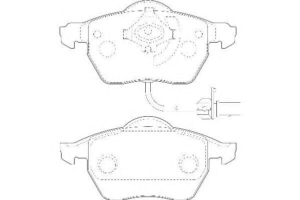 Тормозные колодки WAGNER WBP20676A