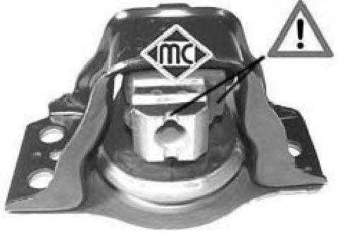 Подушка двигателя Metalcaucho 04638