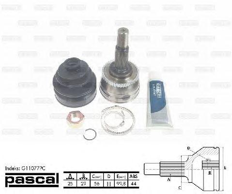 Комплект ШРУСов PASCAL G11077PC