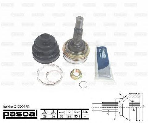 Комплект ШРУСов PASCAL G12005PC