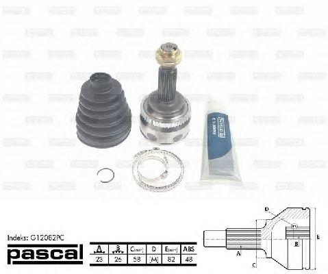 Комплект ШРУСов PASCAL G12082PC