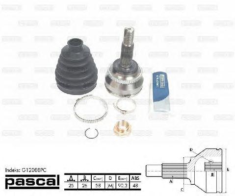 Комплект ШРУСов PASCAL G12088PC