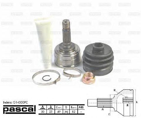Комплект ШРУСов PASCAL G14000PC