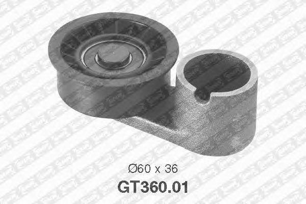 Натяжной ролик ремня ГРМ SNR GT360.01