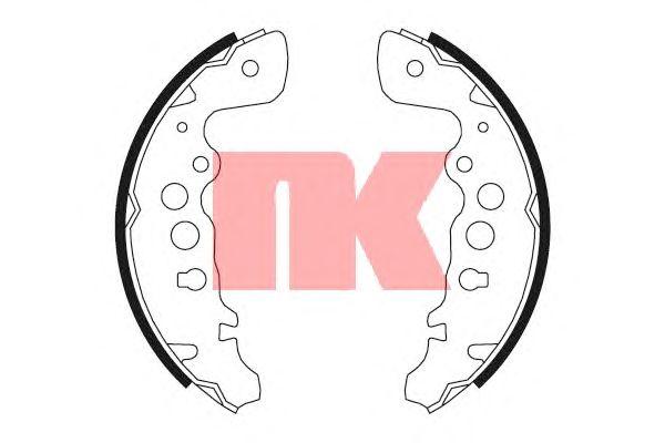 Тормозные колодки NK 2752608