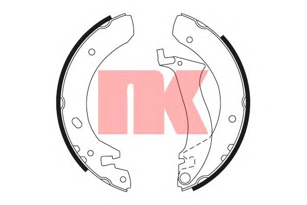 Тормозные колодки NK 2740634